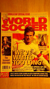 World Soccer Magazine 2006 World Cup Special Issue $59.99
