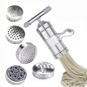 Stainless Steel Fresh Pasta Maker Press Machine for Fettuccine Spaghetti Noodle