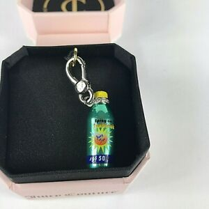 Juicy Couture SPF 50 Suntan Lotion Bottle Charm Retired New In Box $35.00