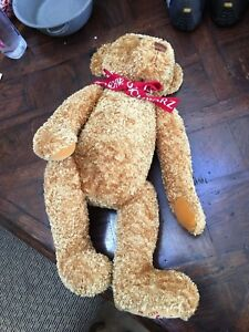 FAO Schwarz Bear 150th Anniversary 24 Great Condition $40.00