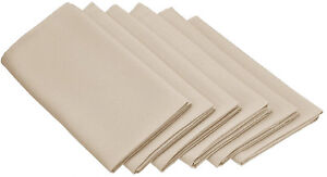 Set Napkins Polyester 20X20 24 Units Variety Colors By Broward Linens