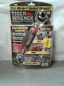Tiger Wrench  As Seen On TV  48-In-1  Steel  Socket Wrench OPEN DAMAGED BOX