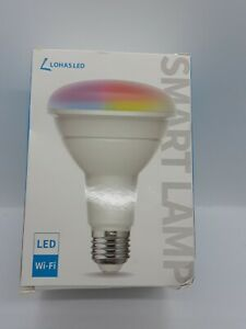 Lohas LED Wifi Smart Lamp with Dimmable Multicolor - 10W BR30 RGBW