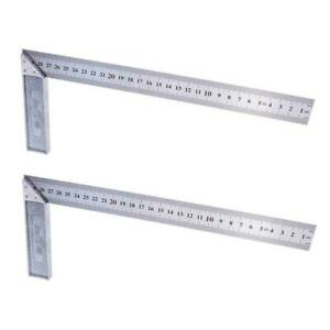 1PC Steel L Square Angle Ruler 90 Degree Ruler For Woodworking Tool L8S7 $3.78
