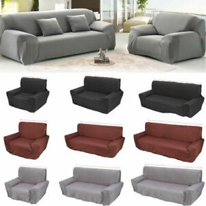 1,2,3,4Seater Stretch For Elastic Fabric Sofa Cover Couch Covers Spandex Protect