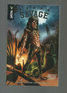 VALIANT SAVAGE PAPERBACK by B CLAY MOORE