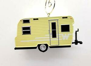 1965 Winnebago Camping Trailer Custom Christmas Ornament 1:64 Diecast