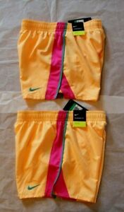 New Nike Running Shorts 890519 Youth Girl's Dri Fit W Liner Size XL $15.99