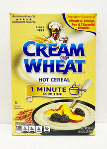 2x 28oz Cream of Wheat Hot Cereal 1 Minute Cook Time BB03/2022
