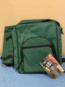 Green Picnic Camping Knapsack Bag Backpack By Picnic Essentials