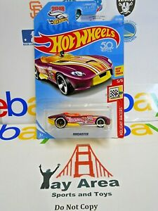 RARE 2018 Hot Wheels Rrroadster Holiday Racers Best For Track Collector No. 5 6