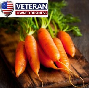 carrot seeds little finger 1000 seeds Non GMO and heirloom Vegetable seeds $3.49