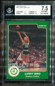 1983 84 Star #26 Larry Bird SP Becktt 7.5
