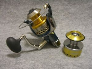 Shimano Stella 01 Sw10000Hg Som 16000 With Spare Spool Institution Good Tuna