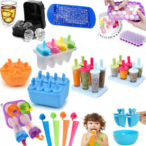 Ice Cream Mold Juice Frozen Popsicle Maker DIY Ice Lolly Mould Ice Cube Tray