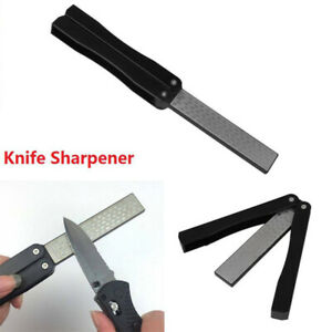 1Pc Knife Sharpener Portable Carbon Steel Professional Sharpening Stone for Home