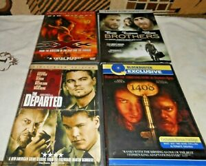 DVD LOT BROTHERS VIN DIESEL THE DEPARTED 1408 NICE LOT