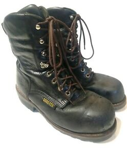 Wolverine Gore Tex Steel Toe Insualted Leather Lace Up Work Boots Mens US 9