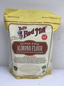 Bob's Red Mill Super-Fine Blanched Almond Flour - 2 pk of 16 oz - Exp 8/29/20