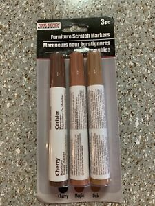 FURNITURE SCRATCH MARKERS, 3 PCS, 3 COLORS, TOOL BENCH Hardware
