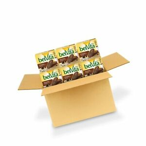 belVita Chocolate Breakfast Biscuits, 6 Boxes of 5 Packs 4 Biscuits Per Pack