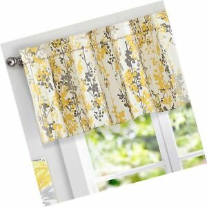 DriftAway Leah Abstract Floral Blossom Ink Painting Thermal Insulated Window ... $37.99