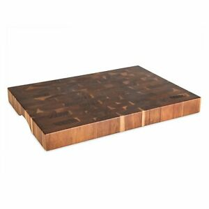 Viking End-Grain Acacia Wood Cutting Board for Kitchen Home Meal Prep Gourmet