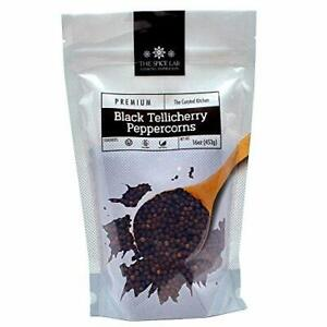The Spice Lab Peppercorns –Tellicherry Whole Black Peppercorns for Grinder Re...