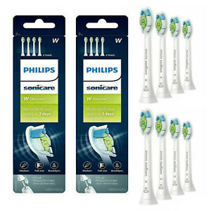 New 8X Philips Sonicare Diamond Clean HX6064 65 W Replacement Brush Heads 2x4 pc