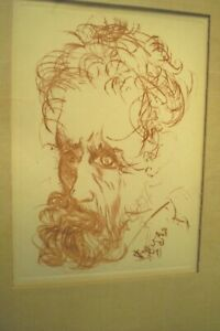 Salvador Dali Etching of Michelangelo Signed in plate Collector's Guild COA. $749.99