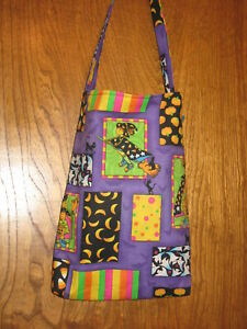 Halloween Treat Bag or Tote - Witchy Witch