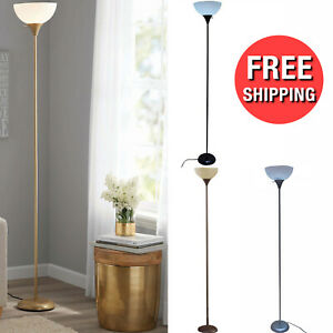 71 Inch Floor Lamp Living Room Light Stand Scoop Shade Read Torchiere Lamp 150W