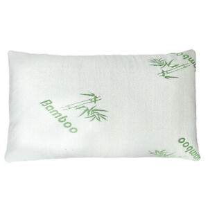 New 1pcs Bamboo Pillow Memory Foam King Size Improved Version Hypoallergenic