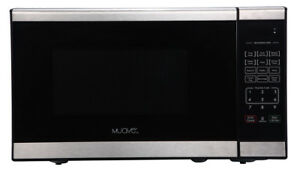 Muave' Compact  Home Microwave Oven 0.7 Cu. Ft, 120v Stainless-Boat or Home