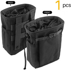 Outdoor Molle Ammo Pouch Pack Tactical Gun Magazine Dump Drop Reloader Pouch Bag