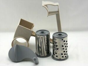 Pampered Chef Cheese Grater with Large & Small Blades ~ Right or Left Handed