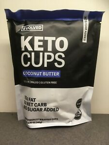 Evolved 3 pk of 4.93 oz Coconut Butter Keto Cups - Exp 7/21/20