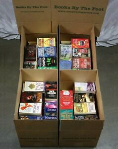 Lot of 20 Fiction Thriller Mystery Paperbacks Popular Author Books MIX UNSORTED