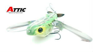 ATTIC SCREW CRAWLER Hand Made JDM Lure #1 Natural Gill NEW I-222