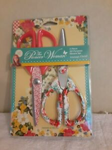 The Pioneer Woman Vintage Floral 2 Piece Shears Scissors