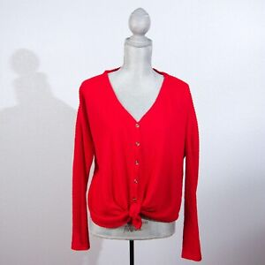 Urban Outfitters Out From Under Womens Cardigan Sweater Size XS Red $14.99