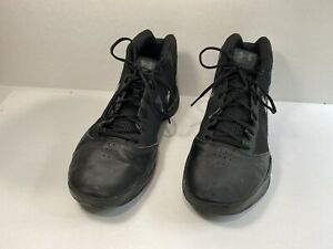 Under Armour Men's Basketball Shoes Triple Black 1300016 001 Sz 13 $40.00