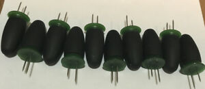 Oxo Good Grips Corn Holders Cooking Dining Corn On The Cob Black Green