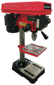 PowerSmart PS308 8 inch 5 Speed Drill Press with Laser Guide