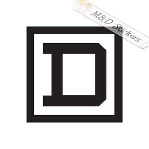 2x Square D Tools Logo Vinyl Decal Sticker Different colors & size for Cars/Bike