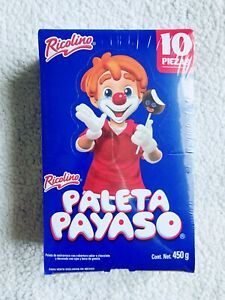 Paleta Payaso - Ricolino - 10 Pieces - Mexican Candy - Free Shipping Fast