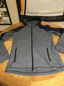 Under Armour ColdGear Infrared Full Zip Women's Hoodie 1294299 Navy Small $14.99