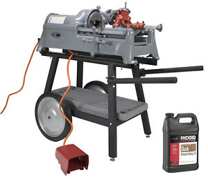 Reconditioned RIDGID® 535 V1 Pipe Threader with Cart and Die Head and Oil  $3,229.99