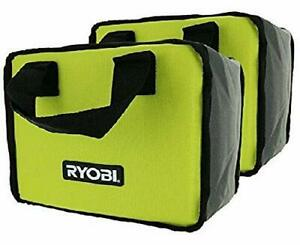 (2) Ryobi Tool Bags (10x8x6) Cases For Hand and Power Tools