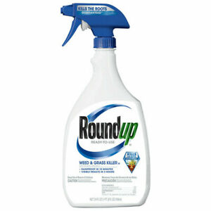 New Roundup Ready to Use 24-oz Weed and Grass Killer Lot of 12 Bottles